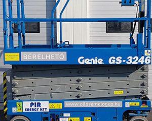 A következő paraméterekkel támad a GENIE GS 3246